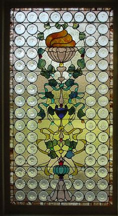 Antique American Stained Glass Windows