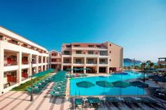 Porto Platanias Beach Resort is located on the beach of Platanias, one of the most touristic areas of Chania area, 10 km west of the picturesque town of Chania. This 5-star hotel promises you a holiday experience of the highest quality.