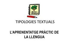 Tipologies textuals