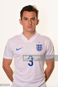 Leighton Baines of England poses during the official FIFA World Cup 2014 portrait session on June 8 2014 in Rio de Janeiro Brazil World Cup 2014, Fifa World Cup, Football Photos, Football Team, Leighton Baines, England Football, Lions, Squad, Polo Ralph Lauren
