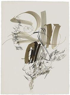 im Zaubergarten der Schrift_The Berlin Calligraphy Collection: Heinz Schumann / Guter Rat, 1999