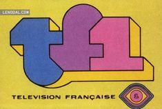 Ancien #logo de TF1 - À l'époque la télé commençait à 10h (ou 11h ???) du mat'…