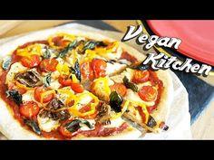 ピザって意外と簡単♪野菜たっぷりのヘルシーピザ♪♪:How to make Pizza  | Vegan Kitchen with ayano ...