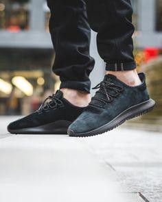 men's adidas tubular shadow on feet
