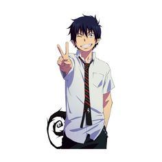 Pinterest ❤ liked on Polyvore featuring anime and ao no exorcist