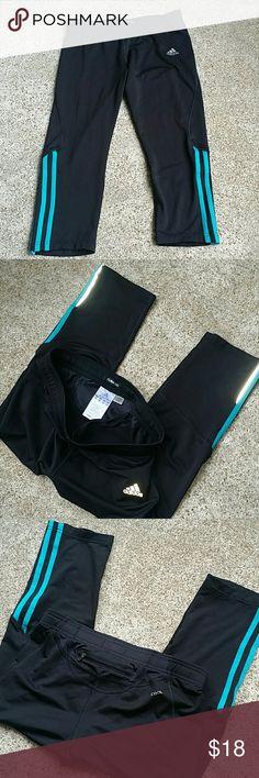 Adidas athletic Yoga Capris Adidas athletic Yoga  Capris adidas Pants Track Pants & Joggers