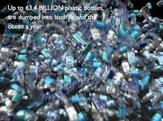 We have the power to stop this..it's so simple...reusable water bottles you pack from home.