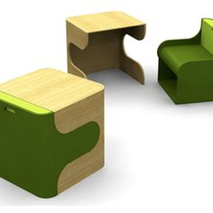 so cute for wee ones.  i always wanted a play desk as a kid.  yes, i was always a dork.