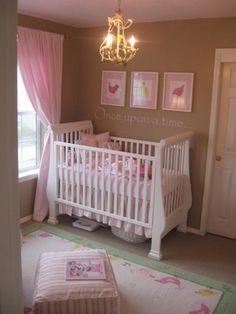 Pink And Brown Nursery