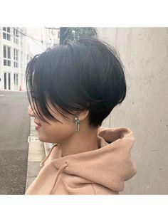 Short Hair Tomboy, Asian Short Hair, Short Hair Cuts, Tomboy Hairstyles, Girl Haircuts, Short Hair Undercut, Undercut Girl, Short Hair Back View, Bob Haircut For Fine Hair