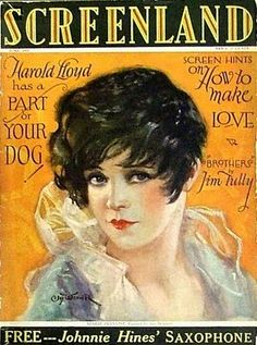 JUNE 1927 - Screenland: Marie Prevost cover