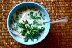 Tom Kha Gai Coconut Lime Thai Soup this has my name ALL over it