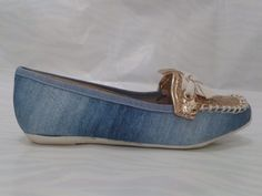 Sapatilha Molekinha Infantil Jeans 2094.205 - R$ 75,90