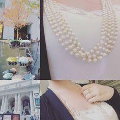 #devolta #ao #clássico #classic #never #dies #ny #nyc #paulaferreira#semijoia#revenda#agoraeahora#dourado#gold#plate#good#girly#mimo#novacolecao#quero#style#serfeliz#temqueter#tendencia#primavera#chegou#pearl#pérolas #colares #necklace