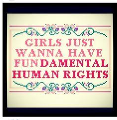 feminist cross stitch   Tumblr