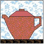 Teapots, Cups, Coffee Mugs....paper pieced...just what I've been looking for!!!