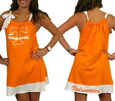 Game Day dresses for lots of schools. Very cute!