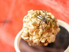 Add pepitas to your popcorn balls for a touch of color.