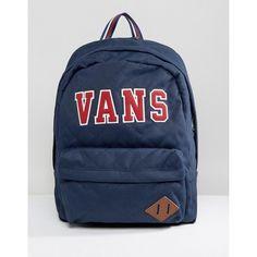 Vans Old Skool Plus Rucksack ( 73) ❤ liked on Polyvore featuring bags 628d5f3b59ef5