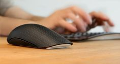 Microsoft Touch Mouse - in use