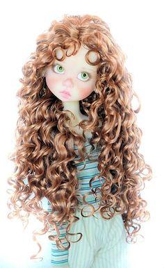 Wig for Kaye Wiggs,Kim Lasher,Linda Macario BJD Angelic Romance in Summerset 8-9 #Wig