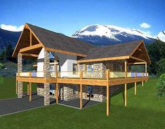 Attractive EPlans Contemporary House Plan U2013 Sportsmanu0027s Cabin 2402 Square Feet And 2  Bedrooms From EPlans U2013 House Plan Code Nice Look