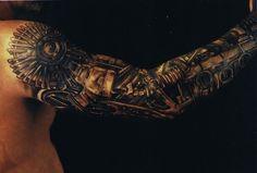 Steampunk arm - Stephane Chaudesaigues