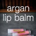 Blushing Argan Lip Balm