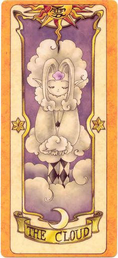 This is The Little Clow Card from the Card Captor Sakura anime and manga series by CLAMP. Cardcaptors was an immense anime! I so wanted to be a Cardcaptor. Cardcaptor Sakura, Sakura Card Captor, Manga Anime, Anime Art, Anime Sexy, Clear Card, Digimon, Magical Girl, Sailor Moon