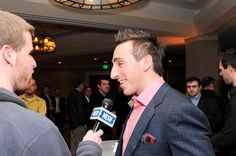 Brad Marchand - Interviewed by NESN at Boston Bruins Foundation Fundraising Event (Casino Night) February 2011 Brad Marchand, Fundraising Events, Casino Night, Boston Bruins, Nhl, February, Foundation, Interview, Foundation Series