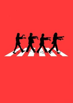 The Beatles are back... #zombies