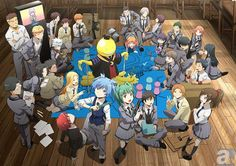 """TV anime """"Assassination Classroom"""" first visual publication of the second season!"""