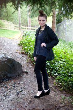 back in black / fashion