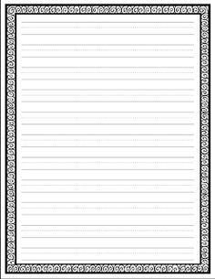 The post Writing Paper Freebie. appeared first on Paper Diy. Cute Writing, Work On Writing, Opinion Writing, Persuasive Writing, Writing Workshop, Writing Ideas, Handwriting Practice Worksheets, Writing Worksheets, Writing Activities