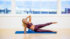 Tracey Mallett uses the ball for a fun ab series in this short workout clip. In the full Mat workout, Tracey goes back to the basics, encouraging you to listen to your body so you can learn what you need. Toned Abs Workout, Back Fat Workout, Abs Workout Routines, Belly Fat Workout, Fat Burning Workout, Workout Ideas, Ultimate Ab Workout, Great Ab Workouts, Effective Ab Workouts