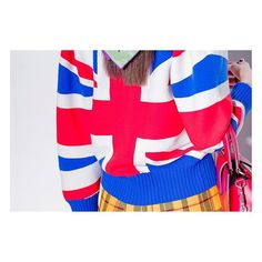 Pin for Later: Seht die Highlights der Gucci Modenschau in London Eine Hommage an Großbritannien mit einem Pullover