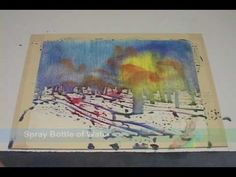 """www.PaintingWildPlaces.com Excerpt from Public TV's """"Gary Spetz's Painting Wild Places with Watercolors."""""""