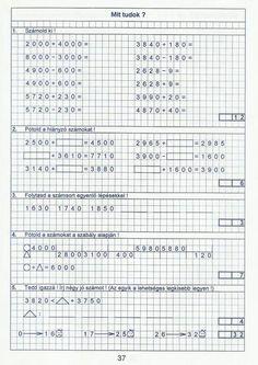 Gyere mesélj! - Képgaléria - Sulis feladat lapok (alsó tagozat) - Kiszámoló 4. osztály Bullet Journal, Words, Getting To Know, Numbers, Writing, Horse