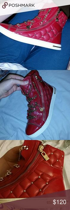 Mk sneakers make me an offer Good condition,  true color in 3rd pic Michael Kors Shoes