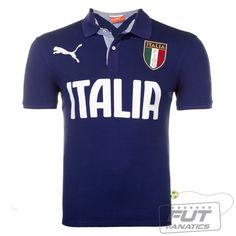 6a81162f9ef Polo Puma Itália SS - Fut Fanatics - Compre Camisas de Futebol Originais  Dos Melhores Times do Brasil e Europa - Futfanatics