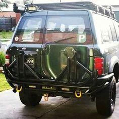 Nissan Patrol Gu Y61 Raslarr Rear Bar Ideas For My