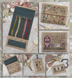 The Drawn Thread, Treasured Tools, The Pastoral, Love Letters Cross Stitch Floss, Small Cross Stitch, Cross Stitch Finishing, Cross Stitch Charts, Cross Stitch Designs, Cross Stitch Patterns, Tatting Patterns, Ribbon Embroidery, Cross Stitch Embroidery