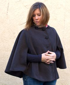 Go To Cape for Women sewing pattern