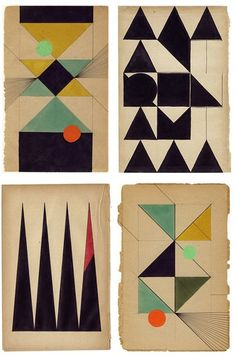 Book pages by Dutch artist Louis Reith