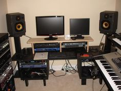 Peachy My 3000 Home Recording Studio This Is More Like It Home Largest Home Design Picture Inspirations Pitcheantrous