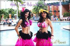 Echoes of Hawaii postcard! www.echoesofhawaii.com #dance #entertainment #miami #florida #hula #hawaiian #luau #summer