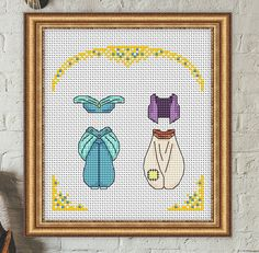 Disney cross stitch pattern Aladdin and Jasmine cross stitch pattern Outfits cross stitch pattern modern cross stitch pattern pdf