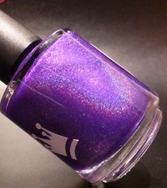 Violet Shimmer Indie Nail Polish by RoyalLacquer on Etsy