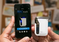Check out the breath tester for the smartphone age: http://cnet.co/14IssZR