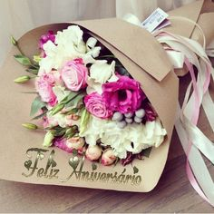 Ideas birthday wishes flowers bouquet Flower Bouqet, Beautiful Bouquet Of Flowers, Birthday Pictures, Birthday Images, 60th Birthday, Happy Birthday, Happy Aniversary, Birthday Wishes Flowers, Flower Box Gift
